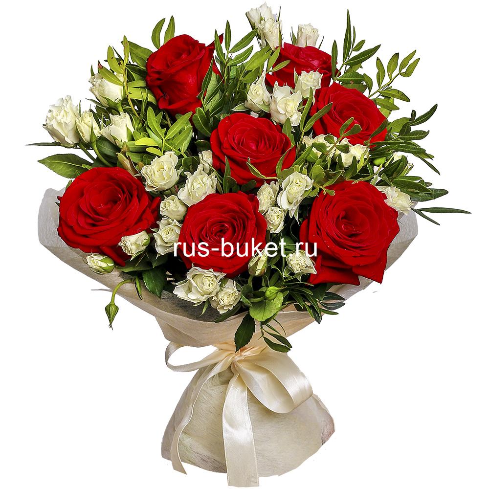 Букет цветов ко дню мамы