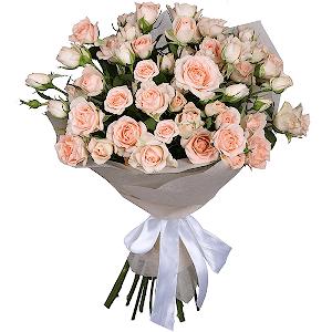 Букет из 11 кустовых роз с доставкой в Екатеринбурге