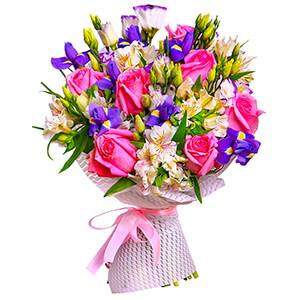 Прекрасный букет +30% цветов с доставкой в Екатеринбурге