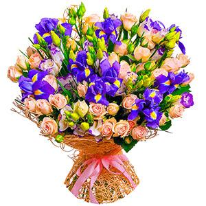 Дизайнерский букет +30% цветов с доставкой в Екатеринбурге