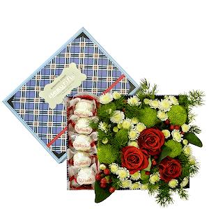 Сладкая жизнь +30% цветов с доставкой в Екатеринбурге