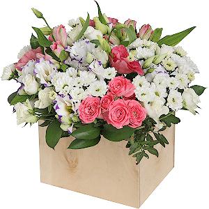 Цветник +30% цветов с доставкой в Екатеринбурге