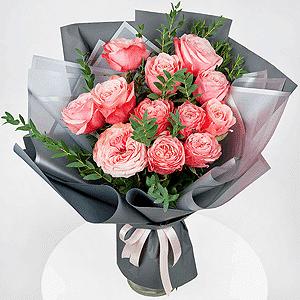 Бизнес-букет +30% цветов с доставкой в Екатеринбурге