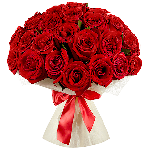 Букет из 35 красных роз